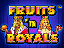 Cлот Fruits And Royals на деньги